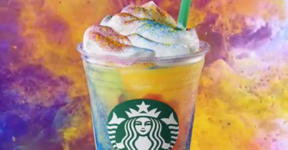 Starbucks Debuts New Tie-Dye Frappuccino