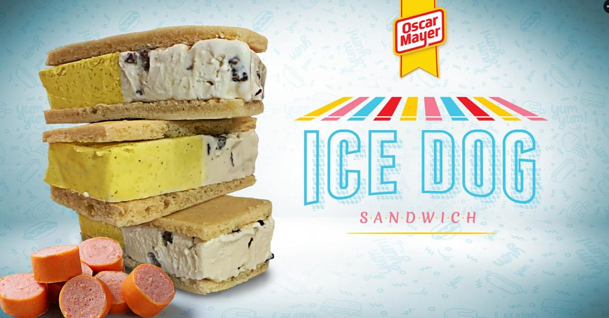 Oscar Mayer Announces Hot Dog Ice Cream Sandwich