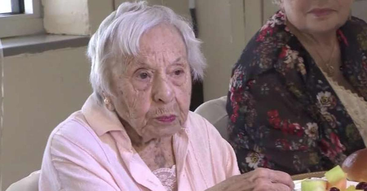 107-year-old Shares Secret to Long Life