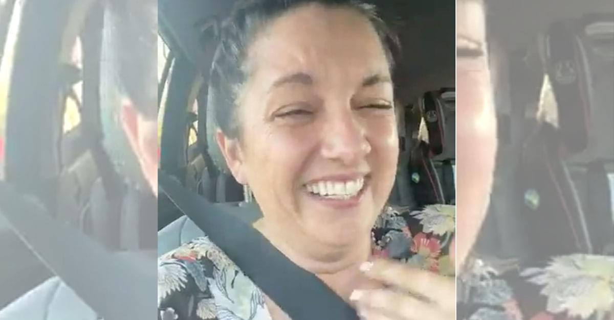 Watch: Woman's Hilarious Holiday Spirit Story goes Viral