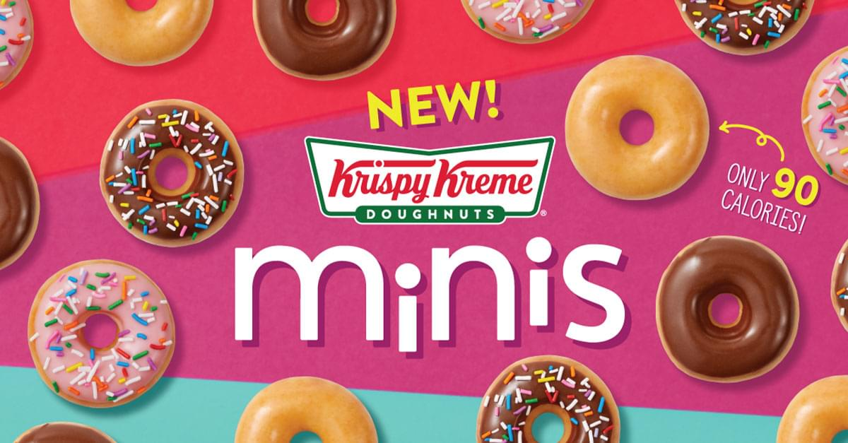 Krispy Kreme is Giving Away Free Doughnuts to Help Your Diet
