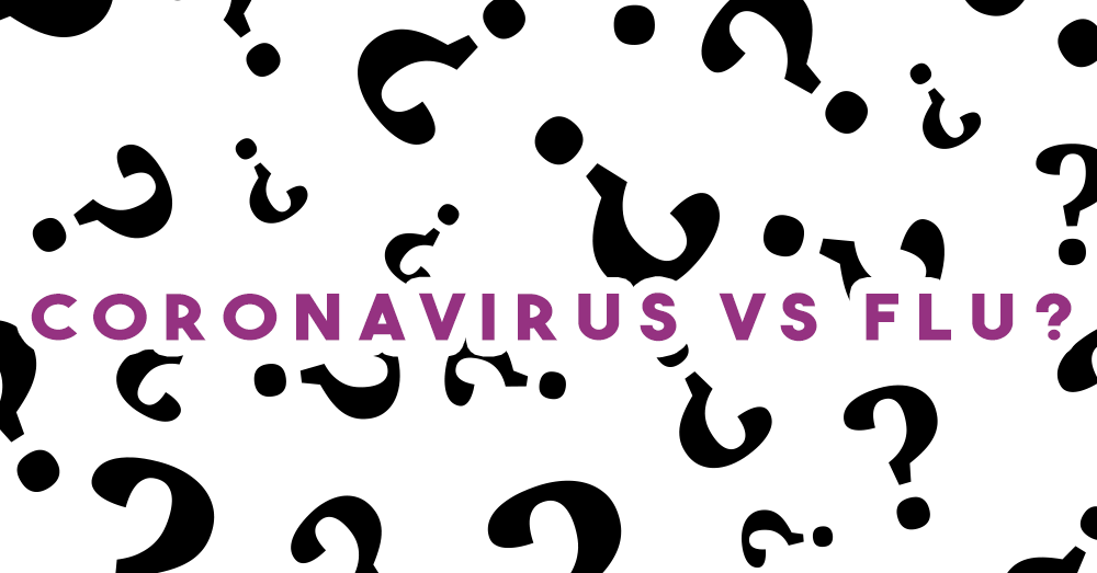 Coronavirus VS. Influenza
