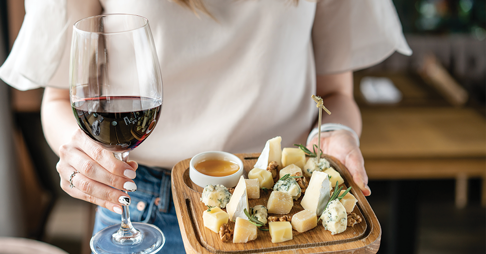 It's National Wine and Cheese Day 7/25!