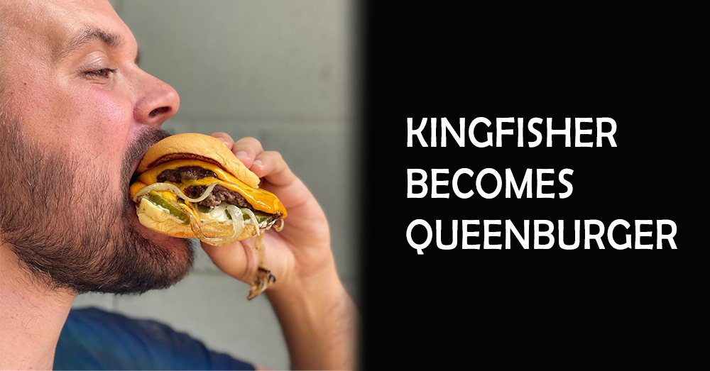Kitty Interviews Chef Sean with Kingfisher, Now Queenburger