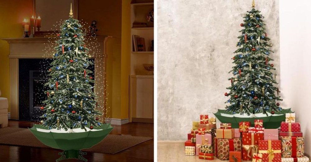 Home Depot Is Selling a Christmas Tree That Snows and Plays Music!
