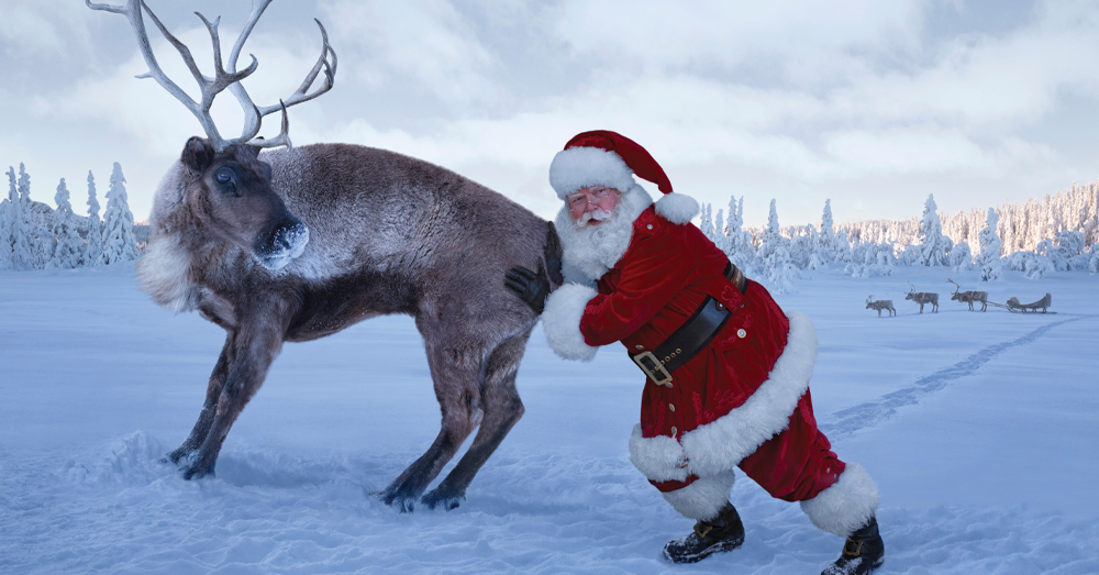 Insure.com has calculated that Santa's estimated salary is rising!