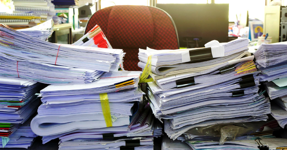 Declutter Your Piled Up Papers with a Shred Event!