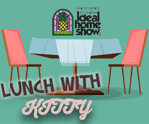 Lunch with Kitty: Southern Ideal Home Show