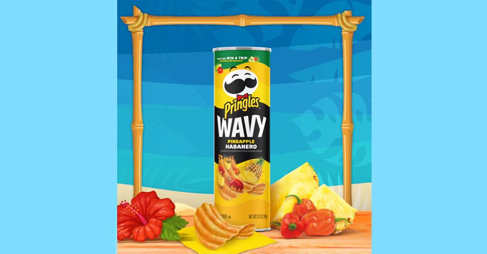 Pringles' Has A New Wavy Pineapple Habanero Crisps!