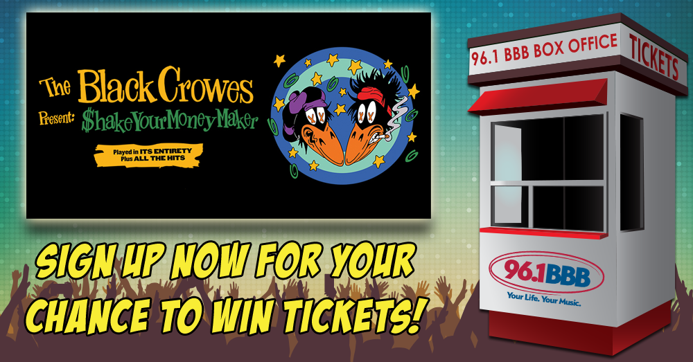 BBB Box Office – The Black Crowes