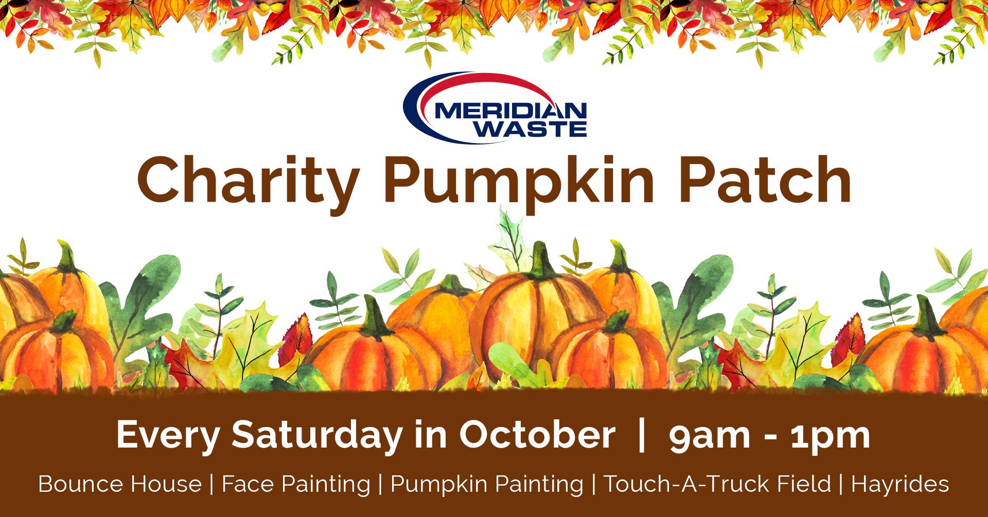 Meridian Waste Charity Pumpkin Patch