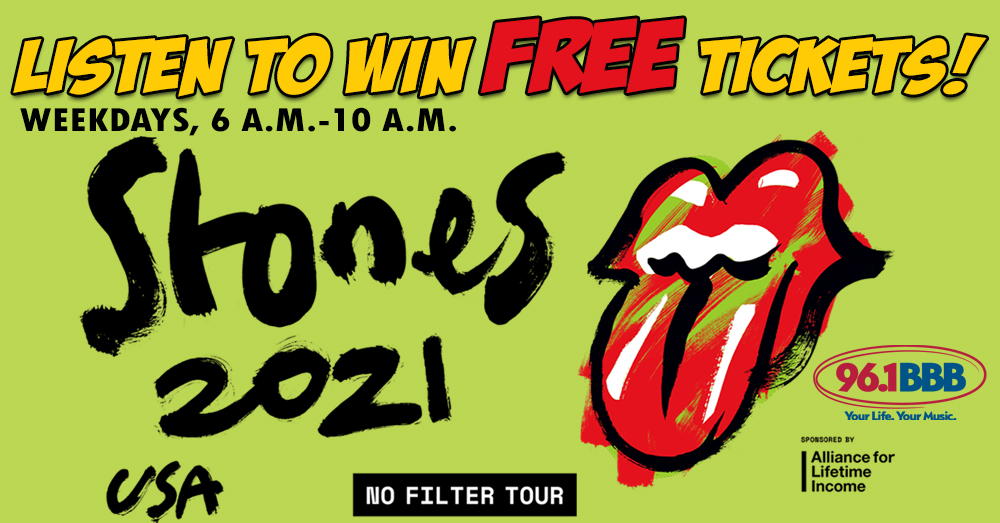 Listen to Win FREE Rolling Stones Tickets