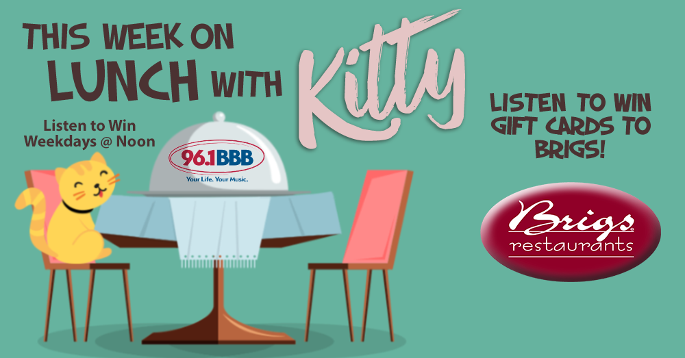Lunch With Kitty: Win Gift Cards to Brigs Restaurants