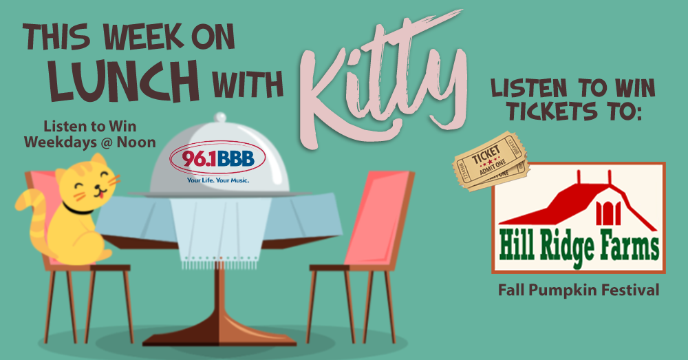 Lunch With Kitty: Tickets to Hill Ridge Farms Fall Festival