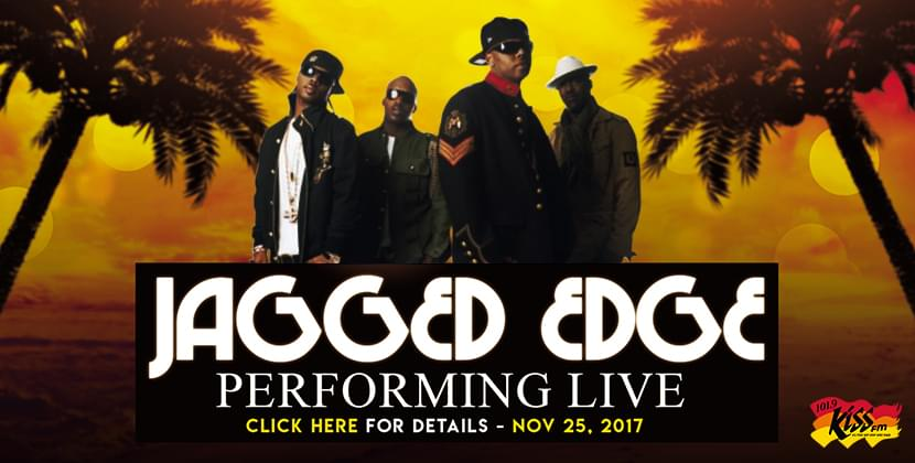 Jagged Edge November 25th At The Greenville Convention Center