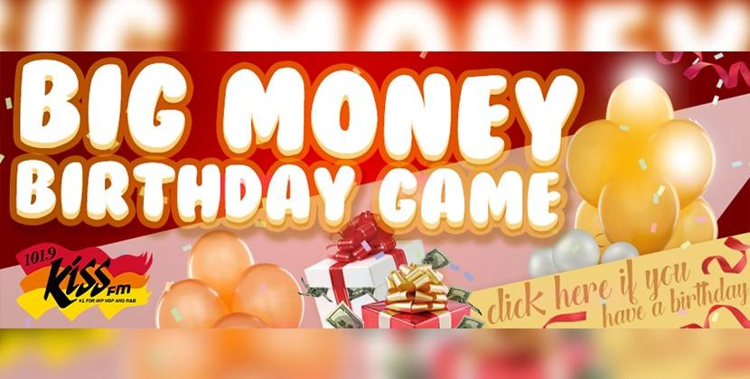 Big Money Birthday Game