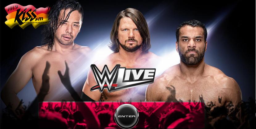 WWE Live Summerjam Heatwave Tour Happening This Saturday!