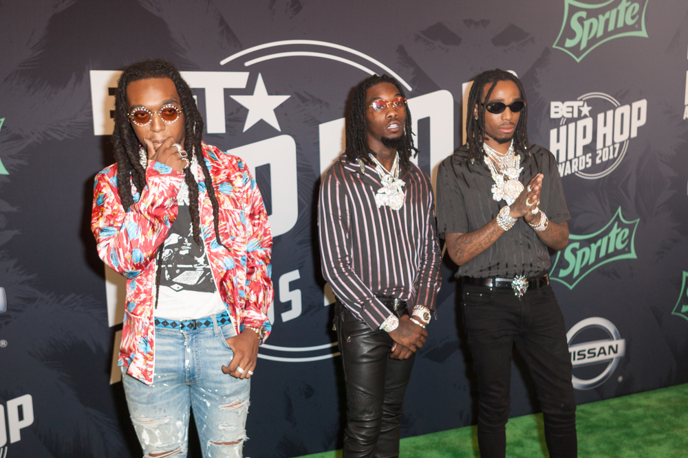 Migos Tied With Beatles for Most Simultaneous Hot 100 Entires by Group