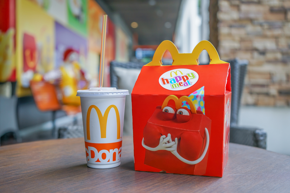 McDonald's Removes Cheeseburgers from Happy Meals