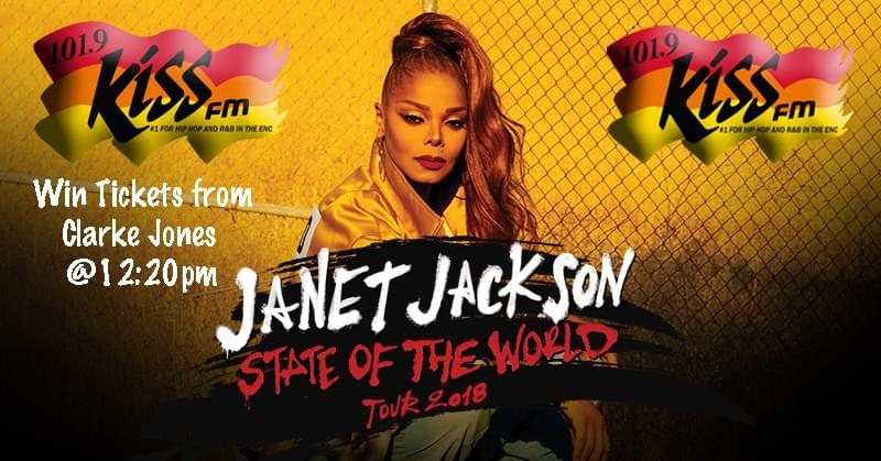 Win Janet Jackson Tickets With 101.9 Kiss FM!