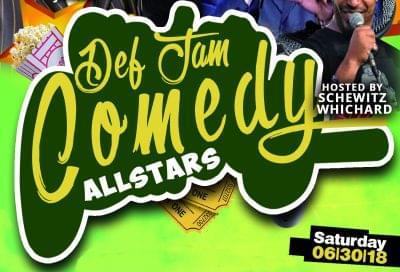 Def Jam Comedy All-Stars June 30th….