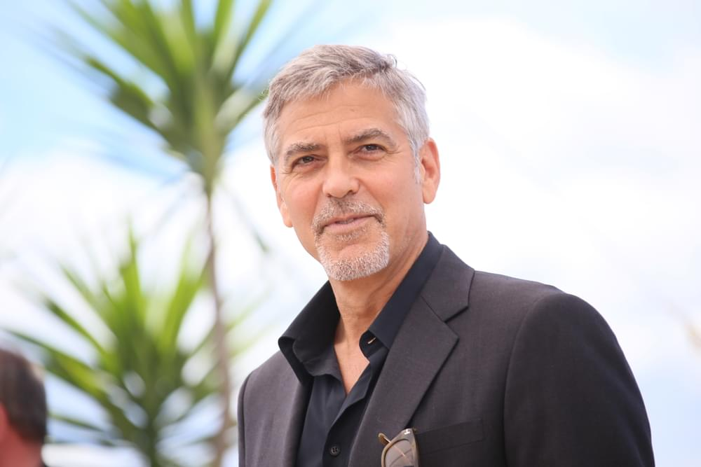 George Clooney in Motorcycle Accident