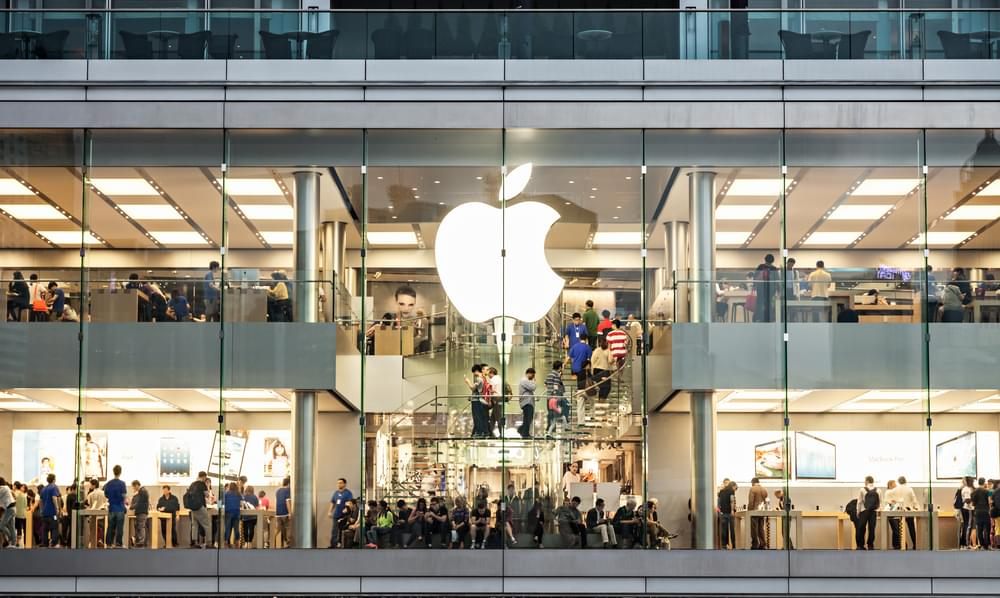 Apple Makes History By Becoming First U.S. Company to Reach $1 Trillion Market Value