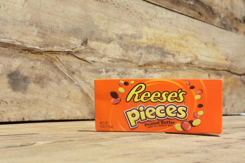 New Reese's Pieces Krispy Kreme Doughnut