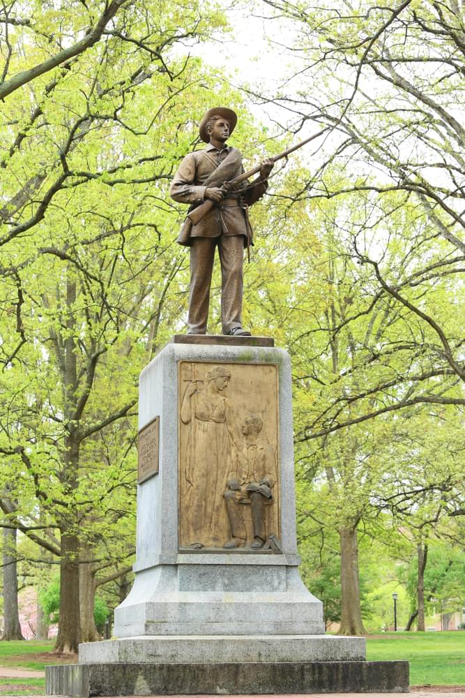 UNC Protesters Knock Down Confederate Statue