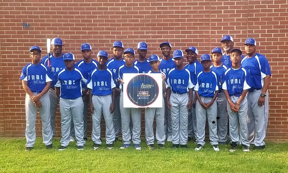 Jackie Robinson Baseball League All Stars head to Baltimore This Weekend