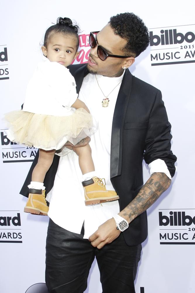 Chris Brown and His Baby Mama Nia Guzman Battle Over Child Support