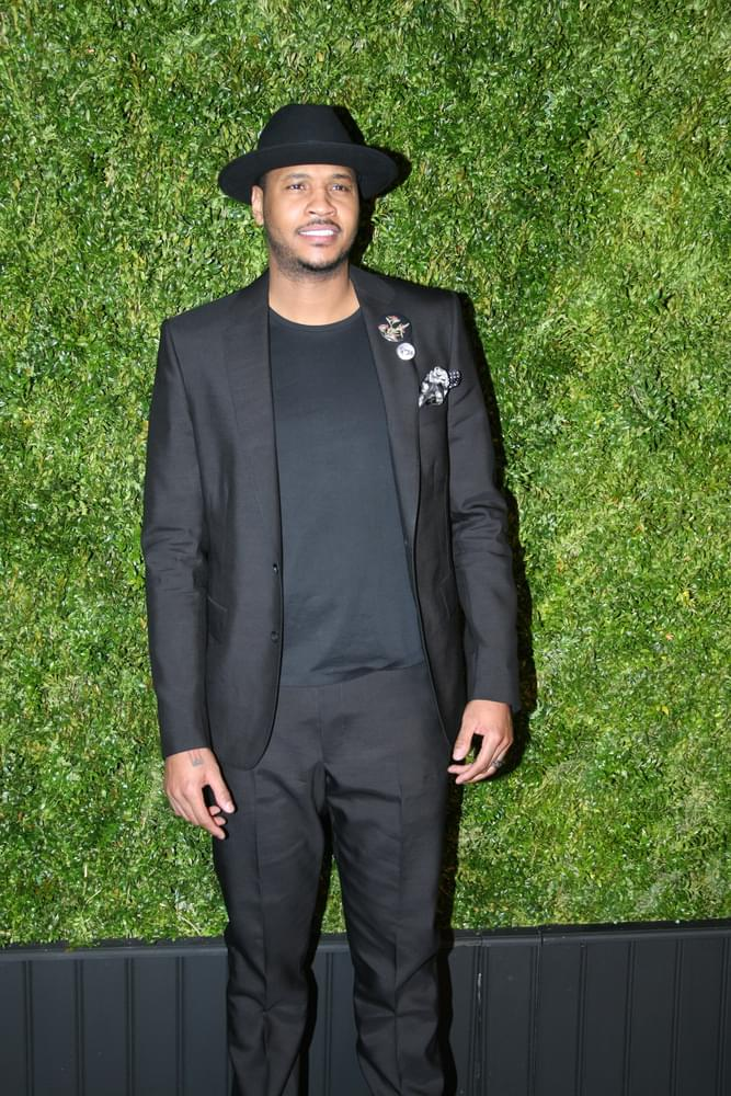 Carmelo Anthony Slapped with a Temporary Restraining Order Over Stalking Claims