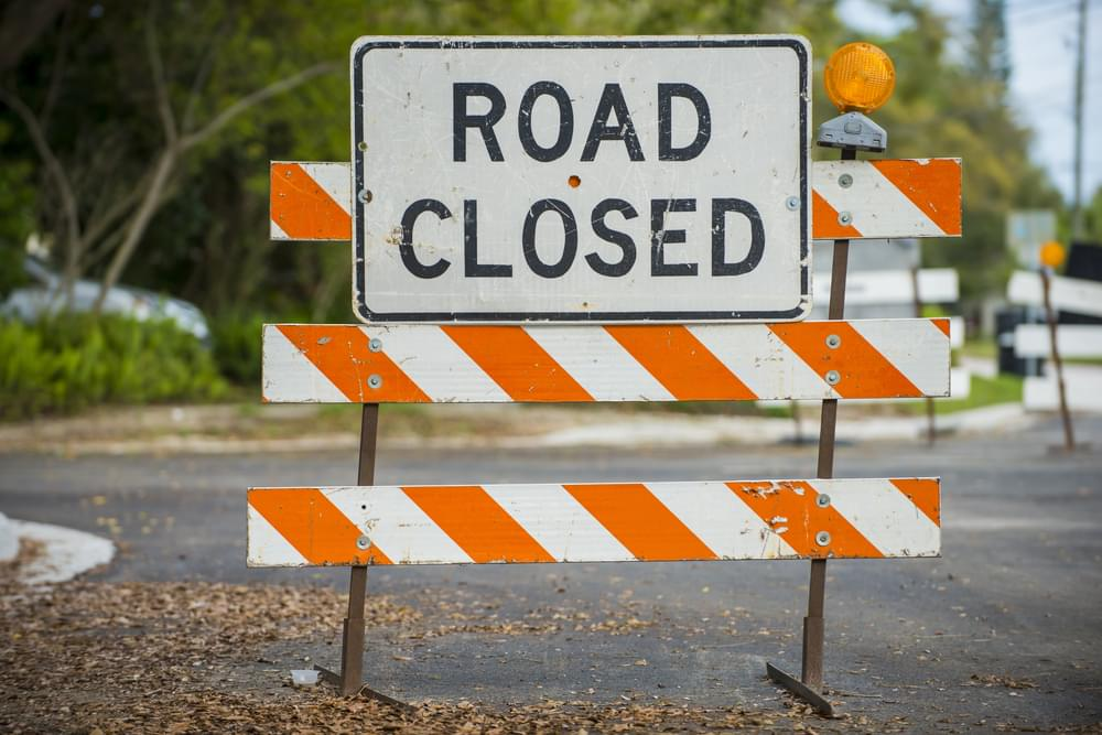 City of Greenville Announces Street Closures Due to Flooding