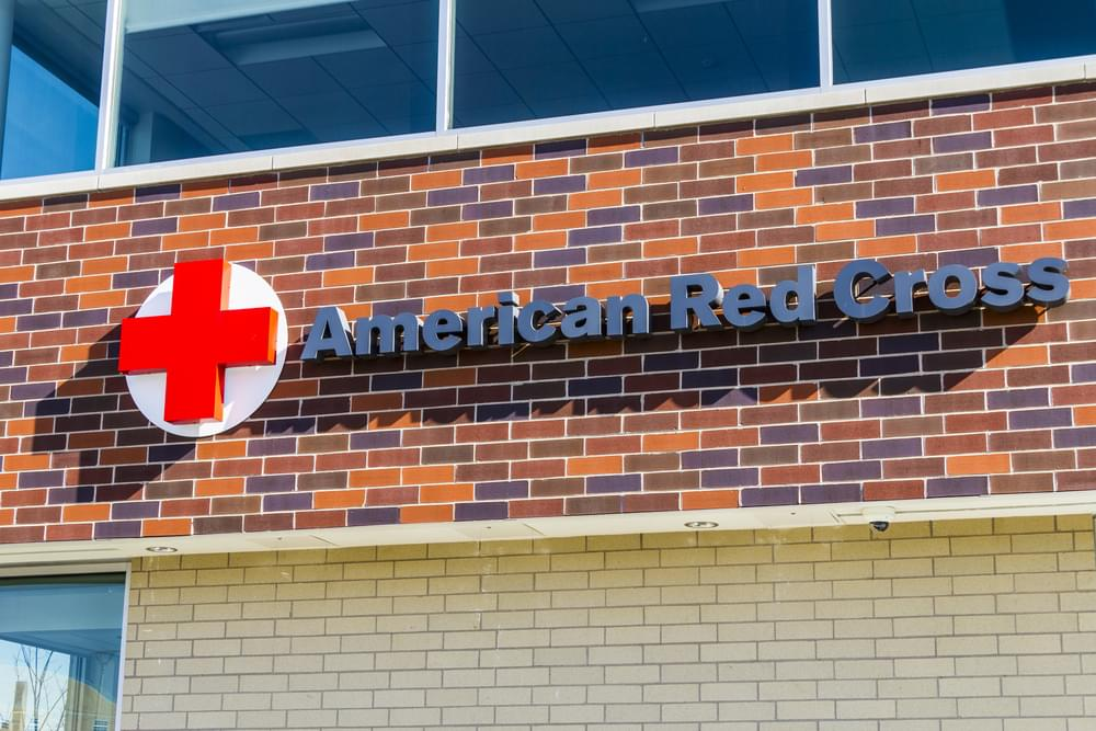 The American Red Cross will be Holding A Blood Drive (Tomorrow) Friday, 10/12 2pm-6pm