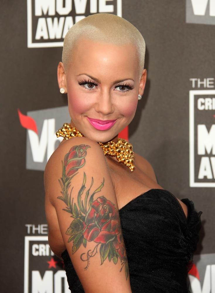 Amber Rose Allows Her 5-Year-Old to Curse