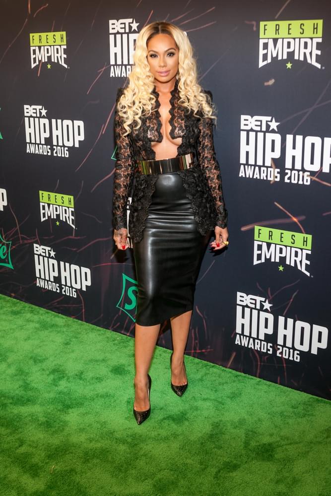 Love & Hip Hop's Erica Mena Arrested with Boyfriend
