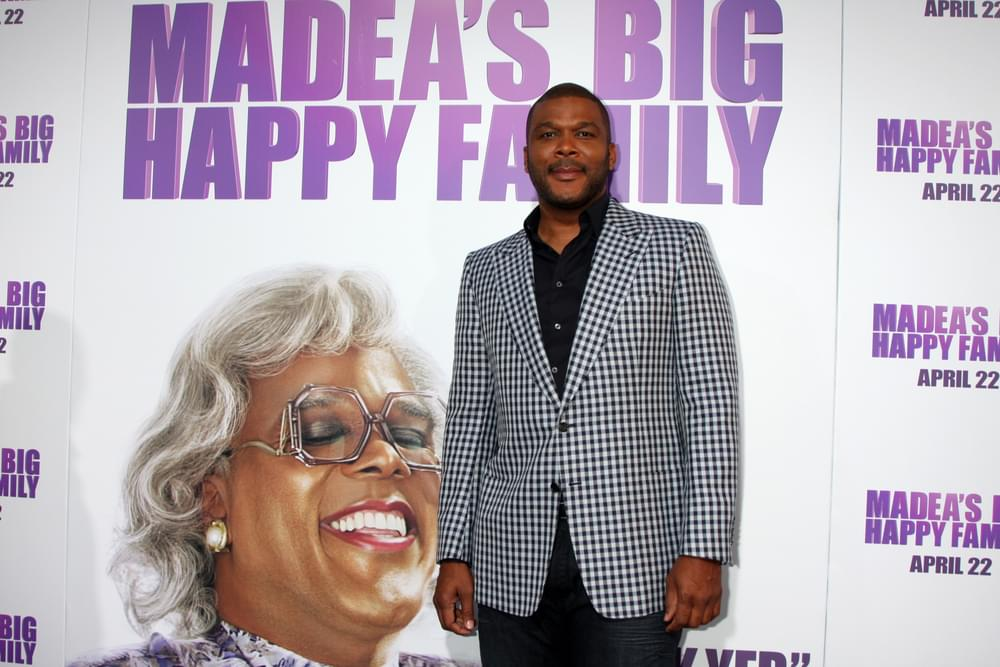 Tyler Perry Says He's Done with Madea