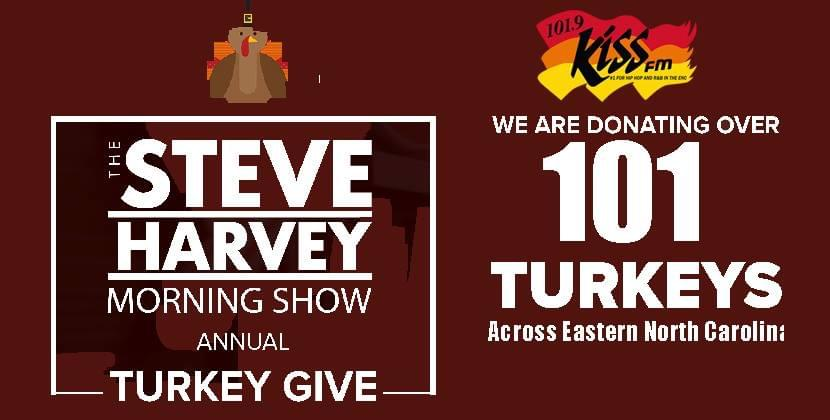Turkey Tuesday! 2018, The Steve Harvey Morning Show Annual Turkey Giveaway!