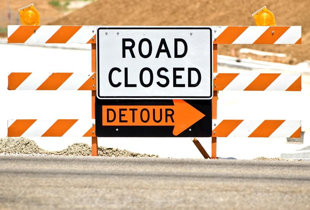 Arlington Boulevard Closed Tuesday and Wednesday