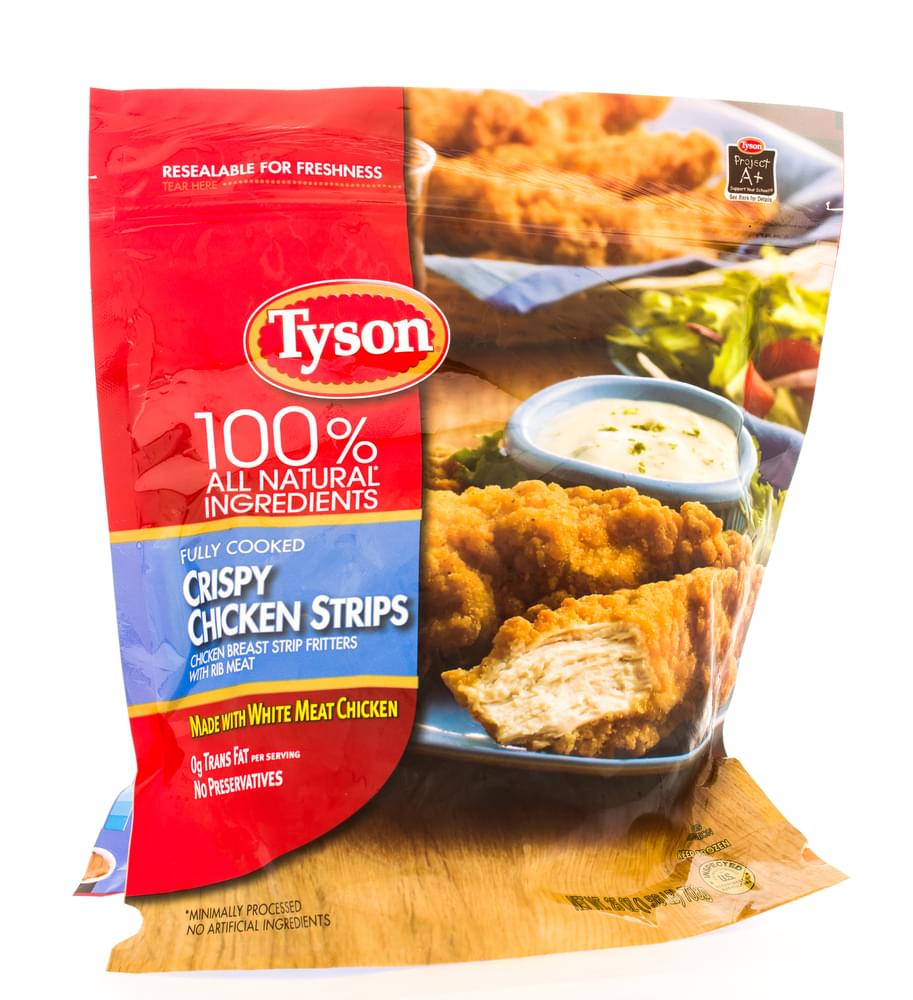 Tyson Chicken Recalled 36,000 Pounds of Chicken Nuggets