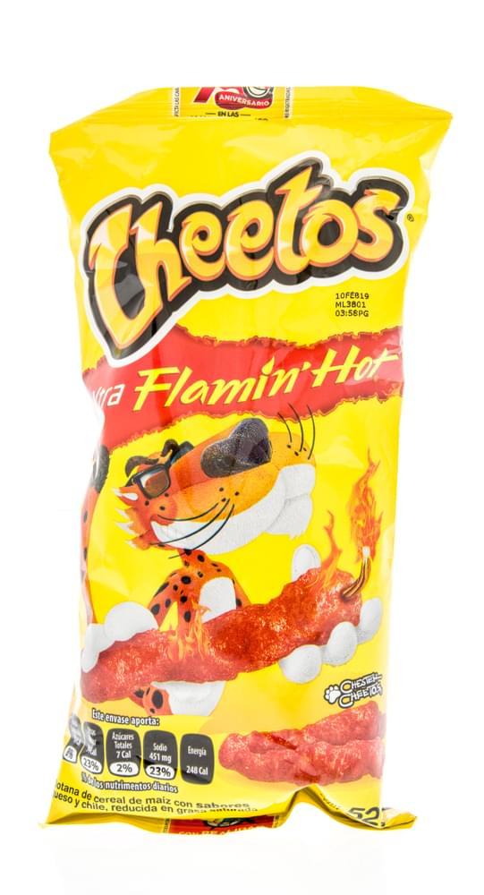 Cheetos Drops Diss Song to Doritos (WATCH)