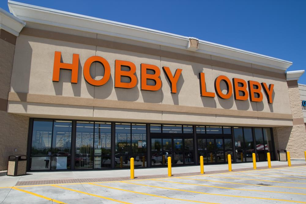 Greenville Police Looking for Hobby Lobby Theft