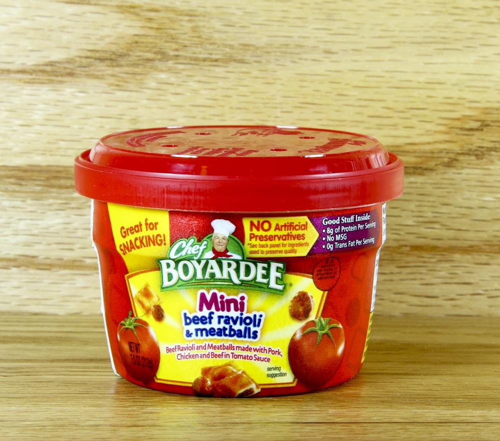 Chef Boyardee Recalls Nearly 3,000 Pounds of Food Due to Mislabeling