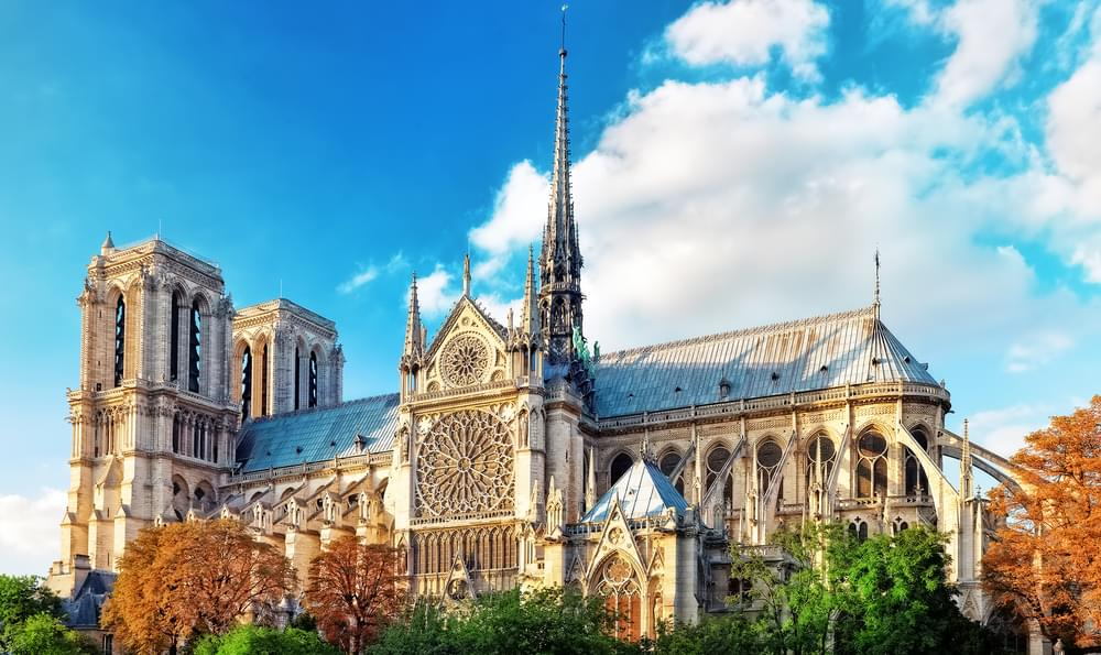 Breaking News: Notre-Dame Cathedral On Fire