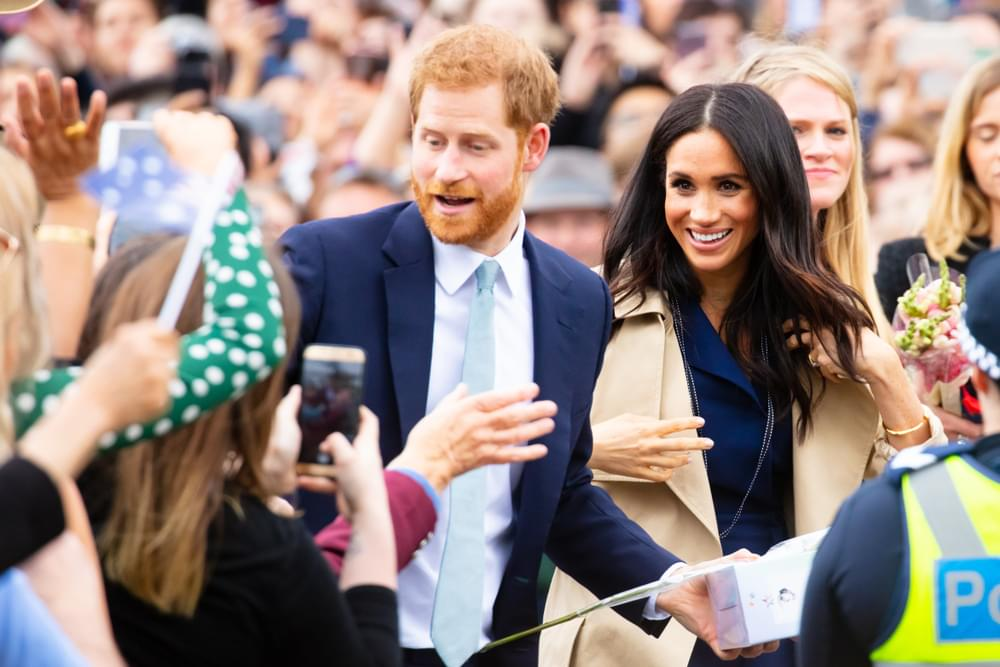 Meghan Markle and Prince Harry Welcome Their First Child, A Boy