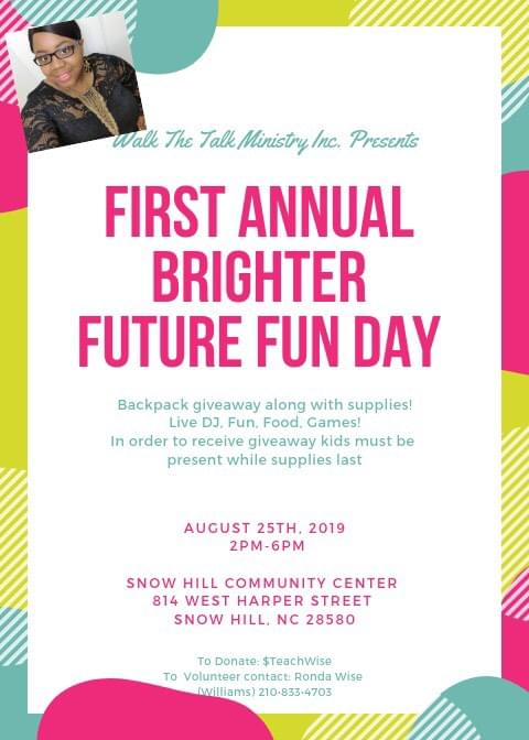 First Annual Brighter and Future Fun Day