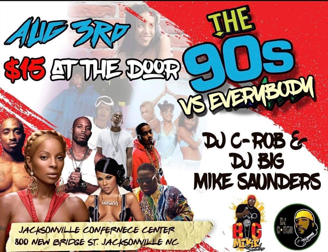 The 90s vs Everybody  Day Party