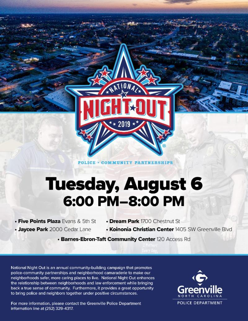 National Night Out Greenville