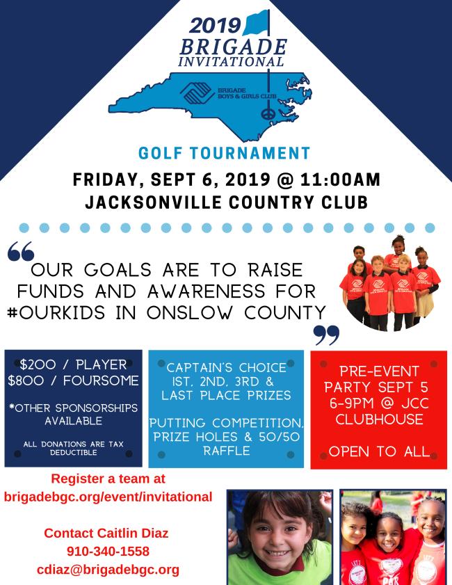 2019 Brigade Golf Tournament