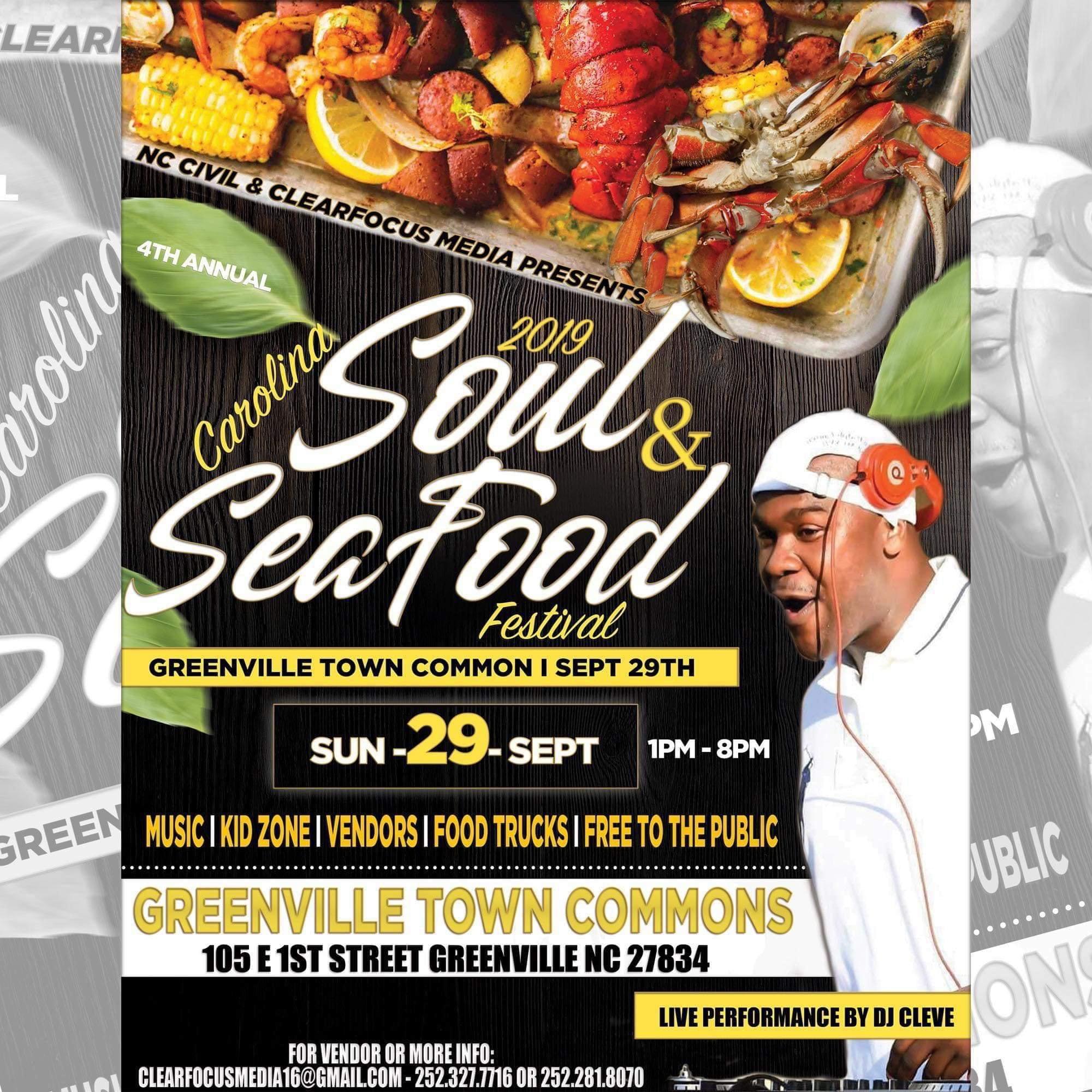 Carolina Soul and Seafood Festival